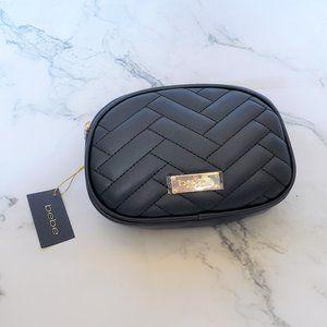 Bebe Poppy Fanny Belt Bag Black